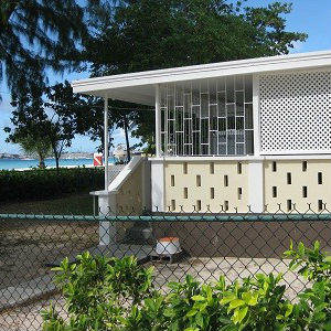 Barbados Beach Cottage Porch From Outside