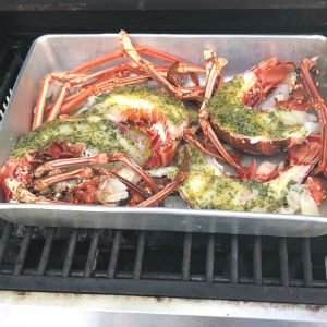 Lobster on the BBQ
